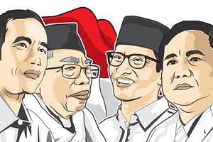 Survei LSI: Sosok Cawapres Bikin Elektabilitas Jokowi Turun, Prabowo Naik