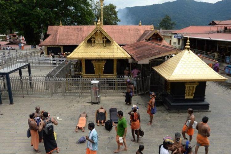 Kuil Dewa Ayyappa di Sabarimala, Kerala, India. (AFP/Arun Sankar)