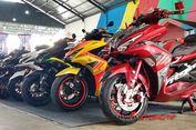Semifinal Kontes Modifikasi Motor Maxi Yamaha di Makassar