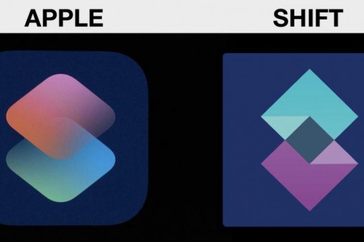 Apple mendapat tuntutan hukum lantaran logo Siri Shortcut dituduh menjiplak perusahaan rintisan asal Inggris, Shift.