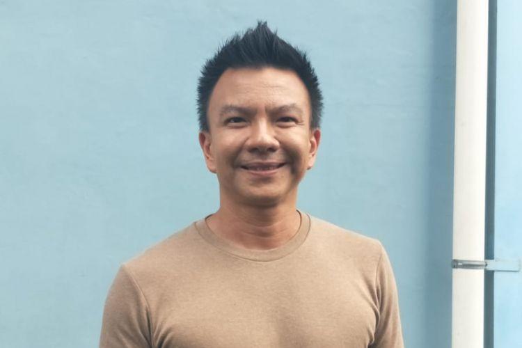 Jerry Aurum saat ditemui di kawasan Tendean, Jakarta Selatan, Selasa (19/2/2019).