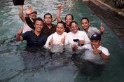 Menang Hasil Quick Count Pilkada Kota Tangerang, Arief-Sachrudin 'Nyemplung' ke Kolam Renang
