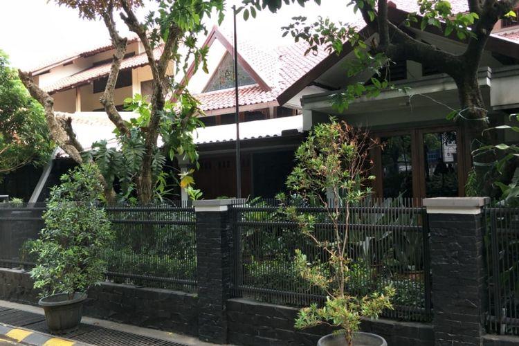 Rumah Menteri Pekerjaan Umum dan Perumahan Rakyat (PUPR)Basuki Hadimuljono yang berada di Kompleks Pengairan-PU Rawasemut, Bekasi Timur, Kota Bekasi yang akan kena gusur karena proyek tol Becakayu di Kota Bekasi, Rabu (15/5/2019).