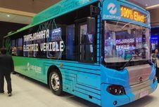Terlalu Lebar, Kemenhub Minta Bus Listrik Transjakarta Diperbaiki