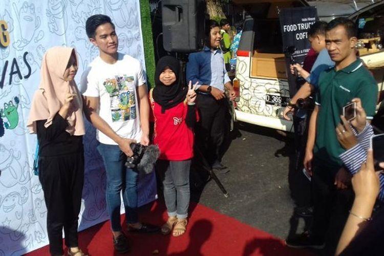 Ketika Dua Putra Presiden Jokowi Berjualan Di Car Free Day Solo
