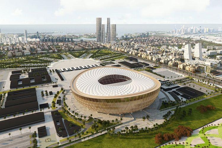 Desain Lusail Stadium