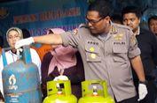 Jaringan Pengoplos Gas Elpiji Subsidi Diringkus Polisi