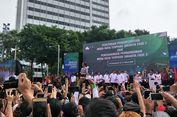 MRT Jakarta Diresmikan, Warga Bersorak-sorai Teriakkan Nama Jokowi