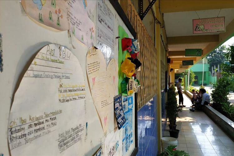 SMP swasta di Bekasi berusaha bertahan dengan jumlah siswa baru yang hanya 1 digit pada tahun ajaran 2019/2020.
