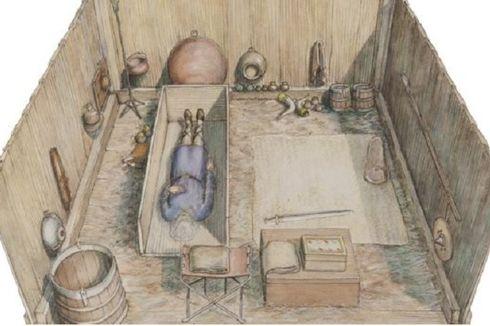 Makam Berusia 1.400 Tahun Ditemukan di Dekat Supermarket di Inggris