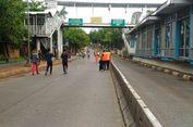 Car Free Day Mampang, Petugas Berompi Jingga Keliling Bawa Kantong Sampah