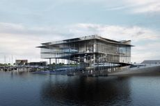 Arsitek Denmark Rancang Kantor Pusat Situs Warisan Dunia