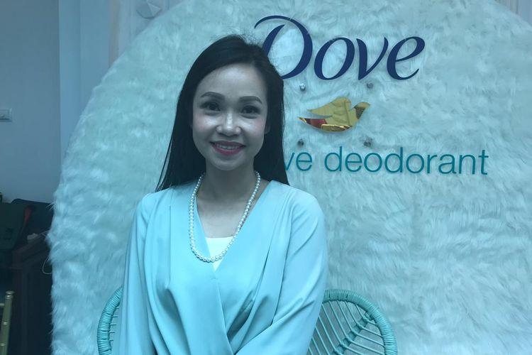 Dr. Melyawati Hermawan, SpKK pada acara media gathering Dove Sensitive Deodorant di kawasan Menteng, Jakarta Pusat, Kamis (11/7/2019).