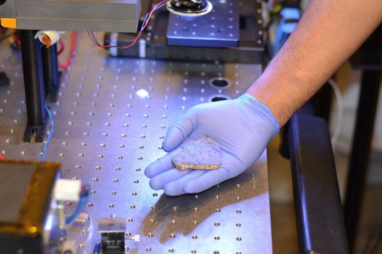 SaU008, meteorit Mars kuno akan segera dipulangkan ke Mars untuk misi robot Mars 2020.