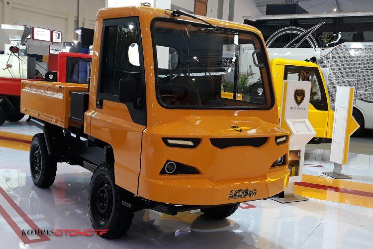 Kendaraan Alat Mekanis Multiguna Pedesaan (AMMDes)