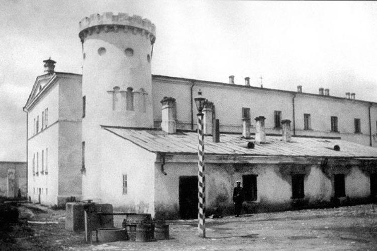 Penampakan bangunan penjara Butyrka pada pertengahan 1880.