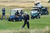 Trump Punya Waktu Bermain Golf, Tapi Tidak untuk Temui Pasukan AS
