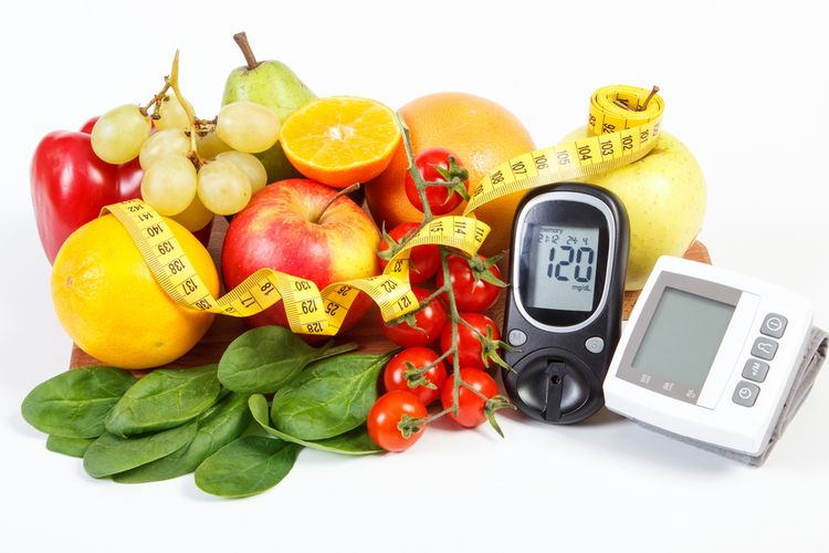 Ilustrasi diet DASH