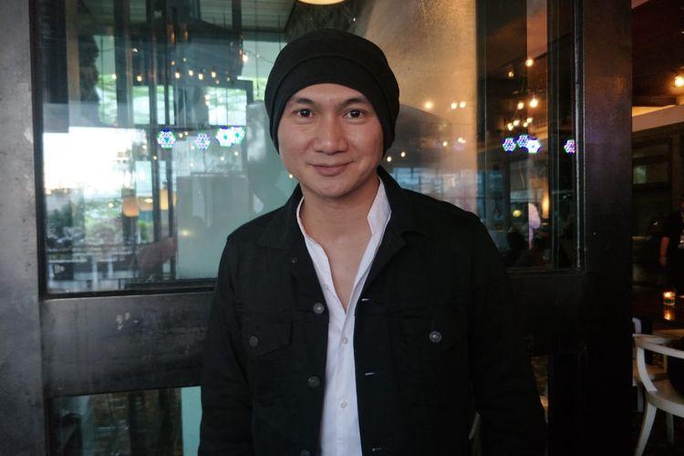 Anji Manji saat ditemui di kawasan Gondangdia, Jakarta Pusat, Senin (27/5/2019).