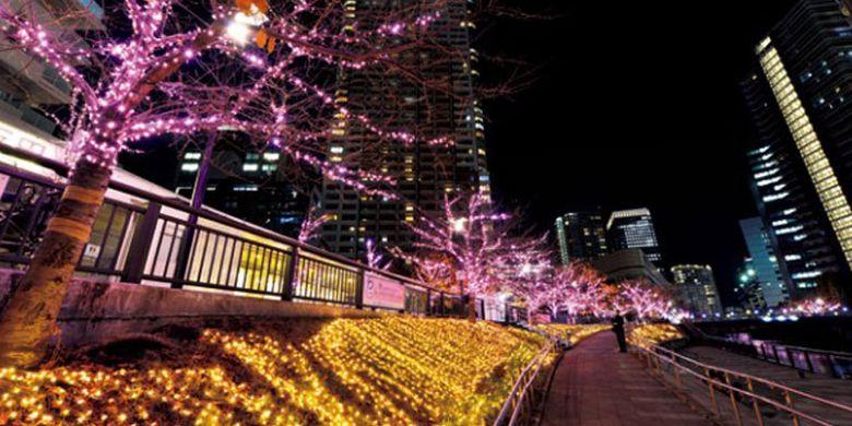 Di sepanjang pinggiran Sungai Meguro yang terbentang dari Stasiun Gotanda sampai dengan Stasiun Osaki yang terkenal sebagai spot bunga sakura ini diadakan event iluminasi bernama Meguro River Minna no Illumination 2017. Event ini diadakan dari 10 November 2017 sampai 8 Januari 2018.