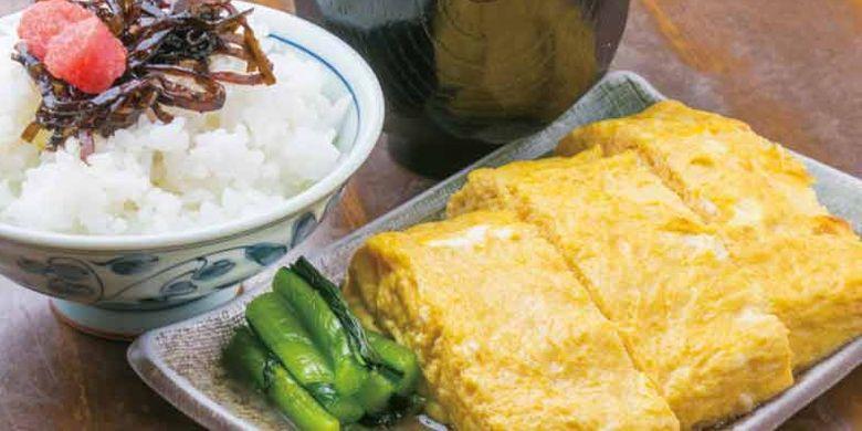 Tamagoyaki Ozawa di Prefektur Kanagawa, Jepang, merupakan restoran terkenal yang menyajikan menu Tamagoyaki atau telur dadar khas Jepang.