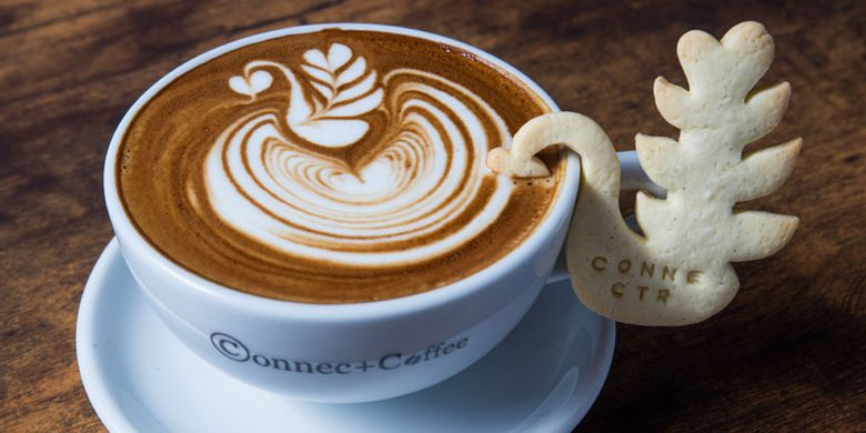 Andori adalah sebutan untuk latte art khas dari Takahiro Ando di ConnectCoffee, Fukuoka, Jepang, yang dibuat sesuai permintaan saat memesan Cafe Latte.