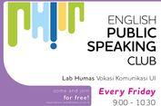 Asik, Vokasi UI Luncurkan 'English Public Speaking' Gratis!