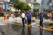 Anies Bersihkan Jalan MH Thamrin Pascakerusuhan 22 Mei