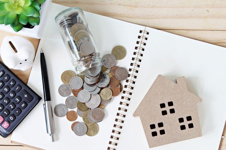 Ilustrasi kesiapan finansial untuk membeli rumah.