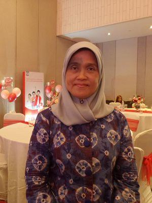 Konsultan tumbuh kembang anak Prof. Dr. dr. Rini Sekartini, SpA(K) pada peluncuran SGM Ekplor Advance+ Soya di kawasan Cikini, Jakarta Pusat, Rabu (28/8/2019).