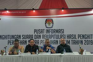 KPU Resmikan Pusat Informasi Penghitungan dan Rekapitulasi Suara Pemilu 2019