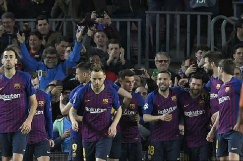 Barcelona Vs Lyon, Gol Ketiga Buat Luis Suarez dkk Lebih Tenang