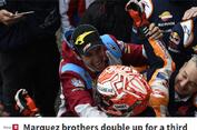 MotoGP Perancis, Kejayaan Marquez Bersaudara di Sirkuit Le Mans