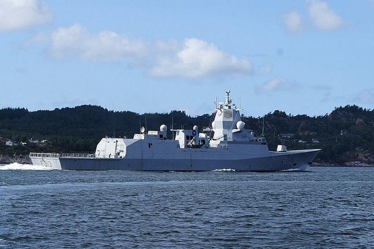 Fregat AL Norwegia KNM Helge Ingstad.