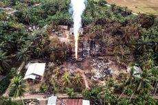 Hujan Guyur Aceh Timur, Api di Sumur Minyak Mulai Padam
