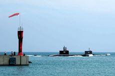 Kapal Selam Terbaru KRI Nagapasa Milik AL Tampil di HUT ke-72 TNI