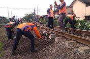 KAI Perbaiki 15 Titik Jembatan Jalur Kereta yang Berisiko Anjlok