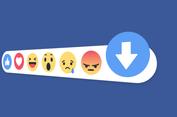 Facebook Uji Tombol 'Downvote', Fungsinya?