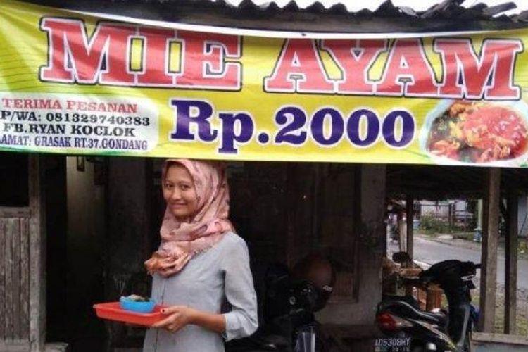 Cerita di Balik Mi Ayam Rp 2 000 di Sragen yang Dicibir di Facebook