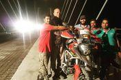 Hampir Sebulan Bermotor, Gunadi Akhirnya Tiba di New Delhi