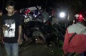 Hilang Kendali, Mobil Pikap Tabrak Pagar Jembatan dan Masuk Sungai