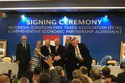 Indonesia Resmi Kerja Sama dengan Asosiasi Perdagangan Bebas Eropa