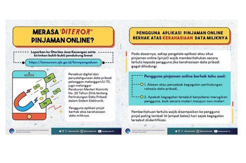 Kominfo Minta Masyarakat Tak Mau Diteror Aplikasi Pinjaman
