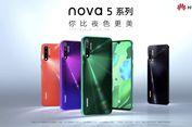 Huawei Nova 5, Nova 5i, dan Nova 5 Pro Resmi Meluncur