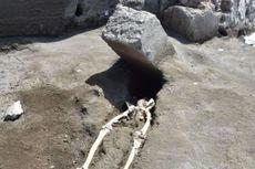 Rangka Manusia Ketiban Batu Ungkap Jejak Letusan Vesuvius di Pompeii