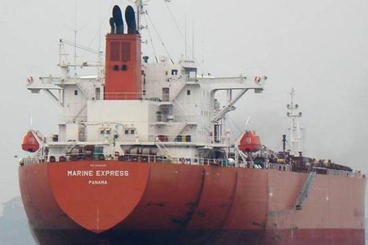 MT Marine Express. (marinetraffic.com/Juric S via Channel News Asia)