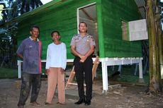 Rumah Warga Miskin yang Dibangun dari Uang Trail Polisi Bireun Sudah Ditempati
