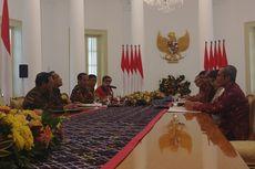 Pimpinan KPK Temui Jokowi di Istana Bogor