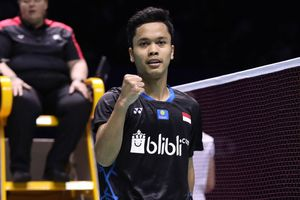 Anthony Sinisuka Ginting Raih Gelar Juara China Open 2018