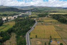 Pengaspalan Sabuk Merah Perbatasan Sektor Timur Rampung 2020